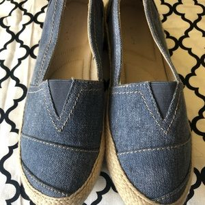 Canvas Blue Jean Loafers